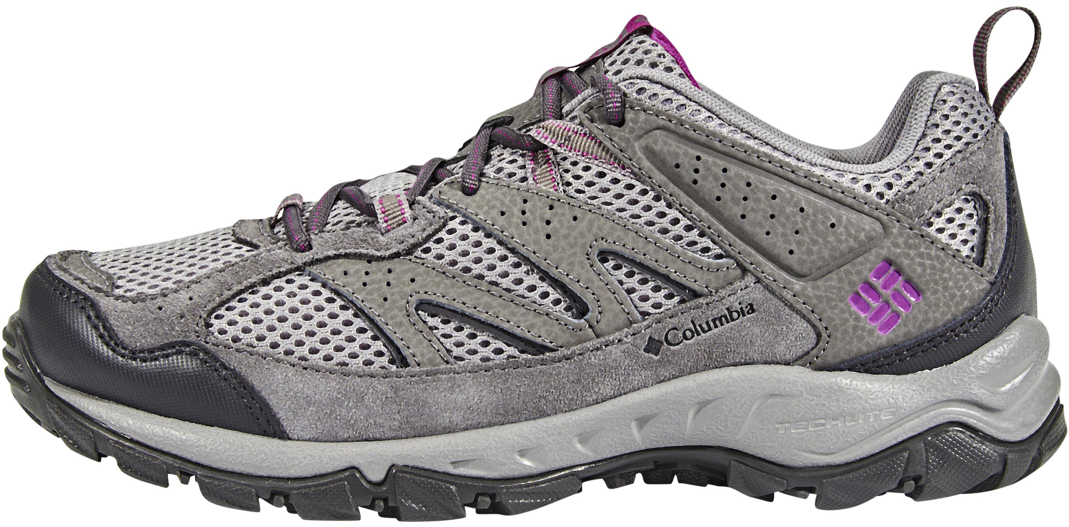 664405ab9fc Columbia Plains Ridge Sko Damer grå | Find outdoortøj, sko & udstyr ...